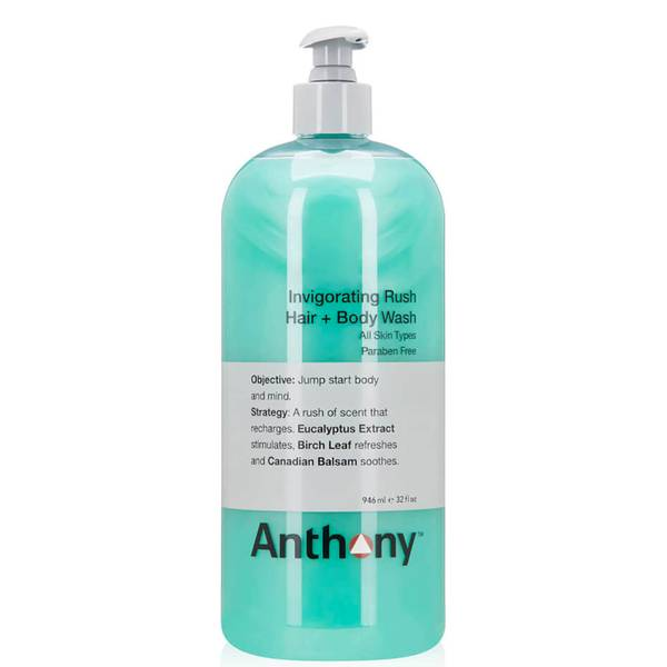 Anthony Invigorating Rush Hair and Body Wash (32 fl. oz. - $75 Value)