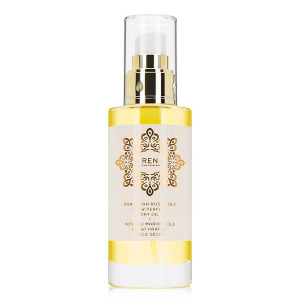 REN Clean Skincare Moroccan Rose Gold Glow Perfect Dry Oil (3.3 oz.)