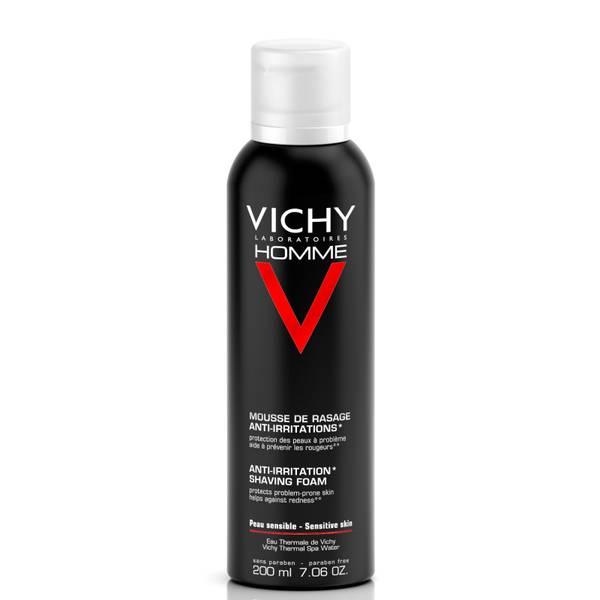 Vichy Homme Anti-Irritation Shaving Foam (7.06 oz.)