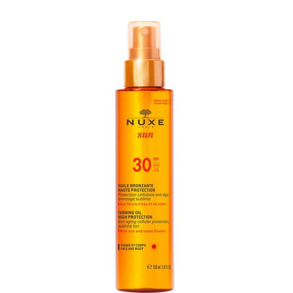 NUXE Sun Tanning Oil Face and Body SPF 30 (150ml)