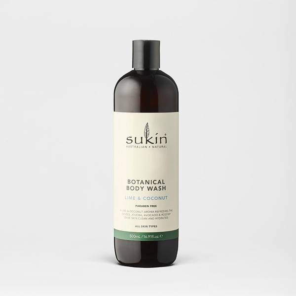 Botanical Lime & Coconut Body Wash 500ml