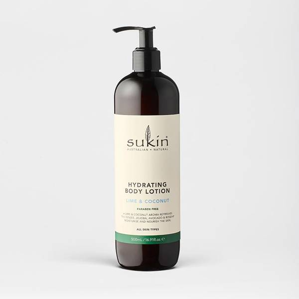 Hydrating Lime & Coconut Body Lotion 500ml