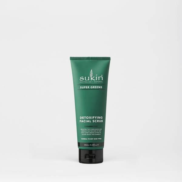 Sukin Super Greens Facial Scrub 125ml