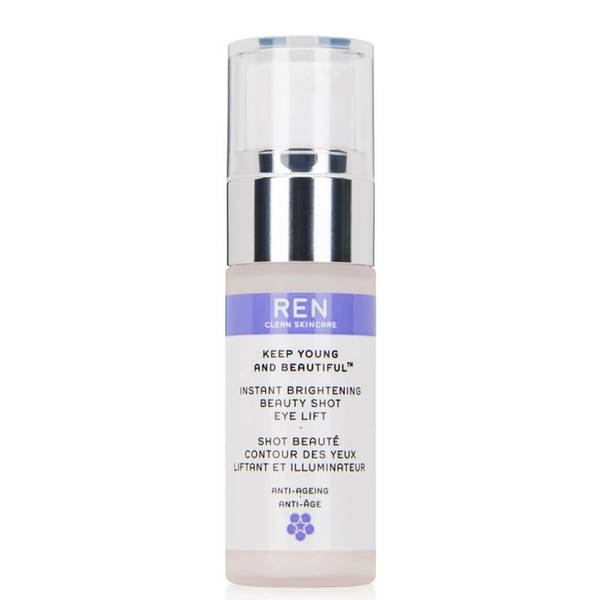REN Clean Skincare Keep Young and Beautiful Instant Brightening Beauty Shot Eye Lift 15ml