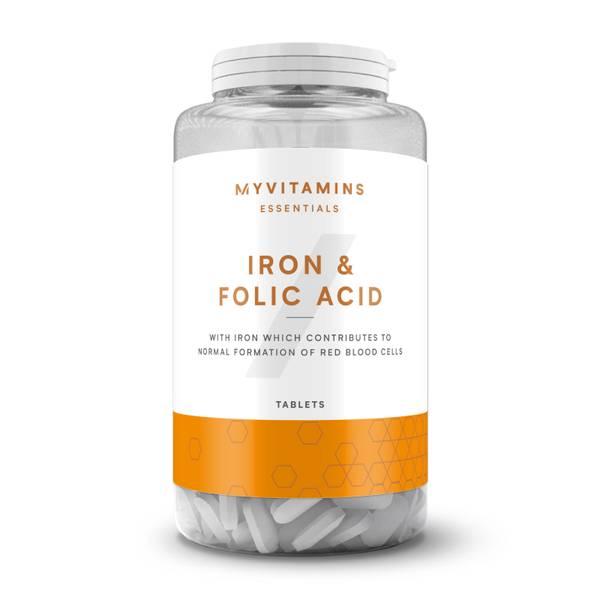 Myvitamins Iron & Folic Acid Tablet