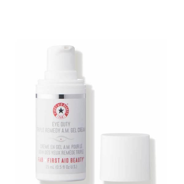 First Aid Beauty Eye Duty Triple Remedy AM Gel Cream (15 ml)
