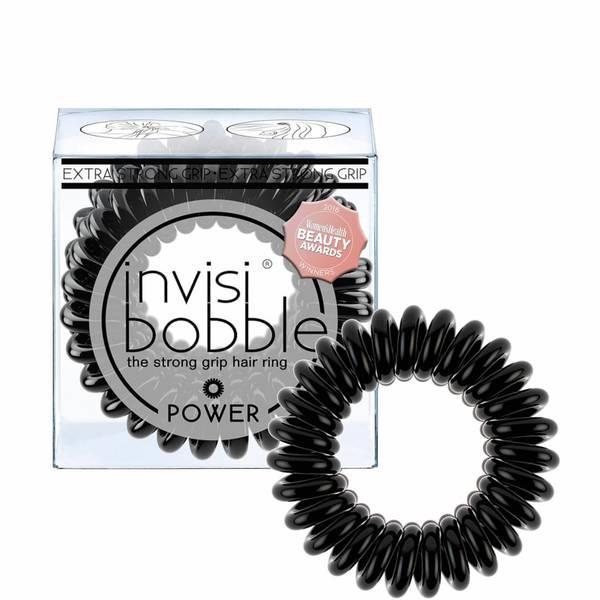 invisibobble Power Hair Tie (3 Pack) - True Black
