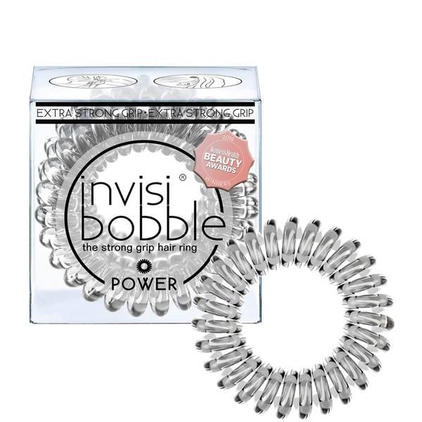 invisibobble Power -hiuslenkki (3 kpl), Crystal Clear