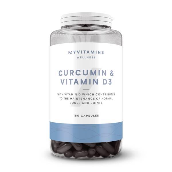 Myvitamins Curcumin & Vitamin D Capsules