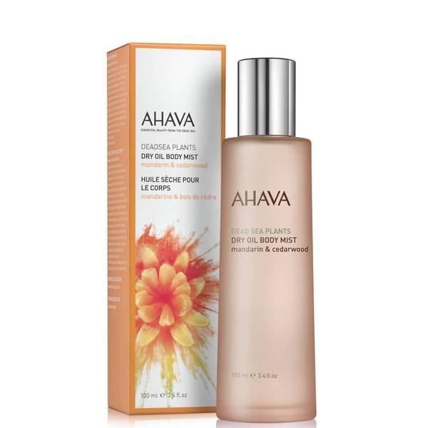 AHAVA Dry Oil Body Mist - Mandarin and Cedarwood 100ml