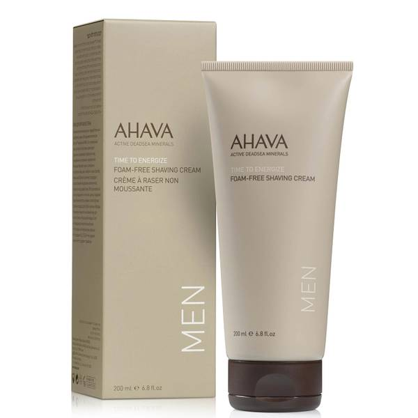 AHAVA Men's Foam Free Shave Cream(아하바 맨스 폼 프리 셰이브 크림)