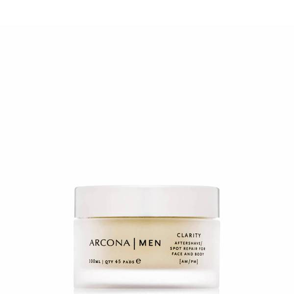 ARCONA MEN Clarity Aftershave Pads (45 Pads)