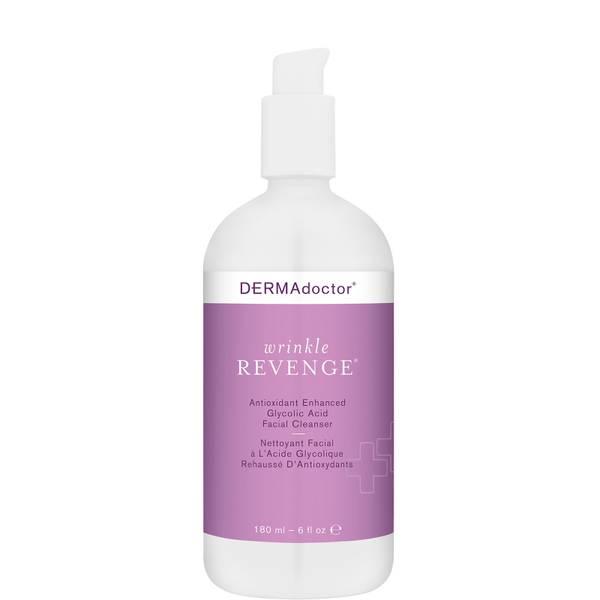 DERMAdoctor Wrinkle Revenge Antioxidant Enhanced Glycolic Acid Facial Cleanser (6 fl. oz.)
