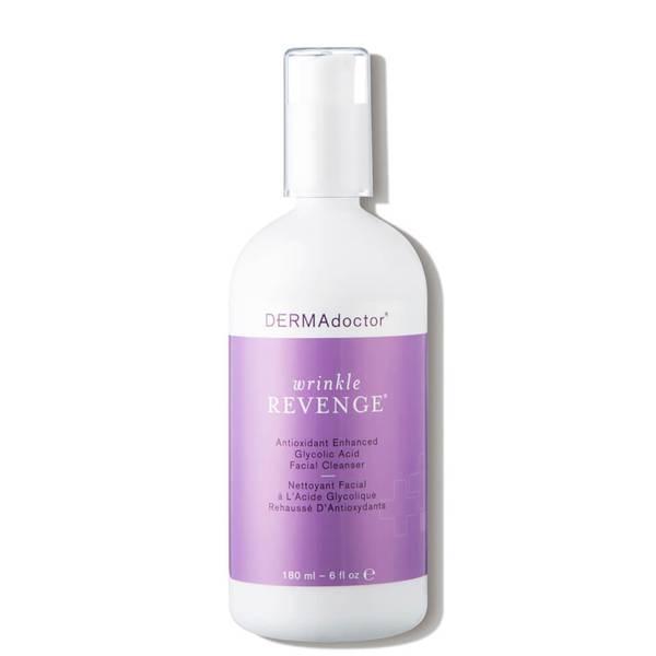 DERMAdoctor Wrinkle Revenge Antioxidant Enhanced Glycolic Acid Facial Cleanser