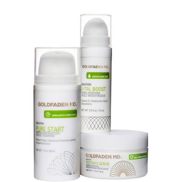 Goldfaden MD Radiant Skin Renewal Starter Kit (3 piece)
