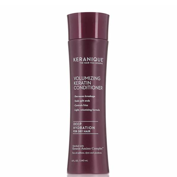 Keranique Deep Hydration Volumizing Keratin Conditioner - For Dry Hair (8 fl. oz.)