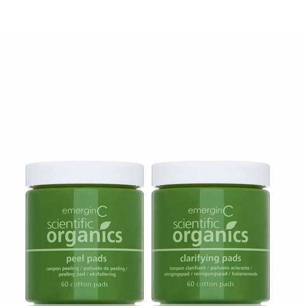 EmerginC Scientific Organics At-Home Peel and Clarifying Kit (2 piece)