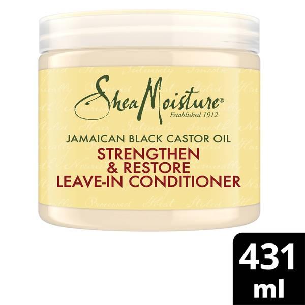 Shea Moisture Jamaican Black Castor Oil Strengthen, Grow & Restore Leave-In Conditioner 431ml