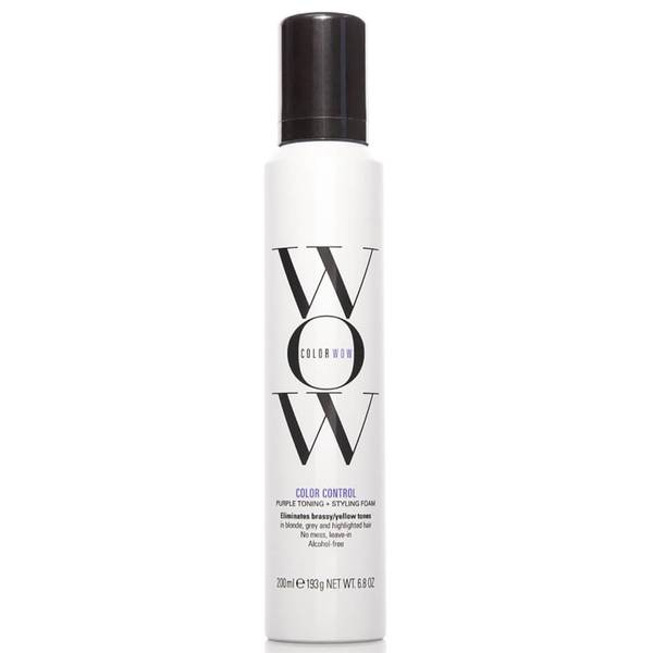 Color WOW Color Control Purple Toning Styling Foam (6.9 oz.)