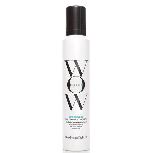 Color WOW Color Control Blue Toning Styling Foam (6.9 oz.)