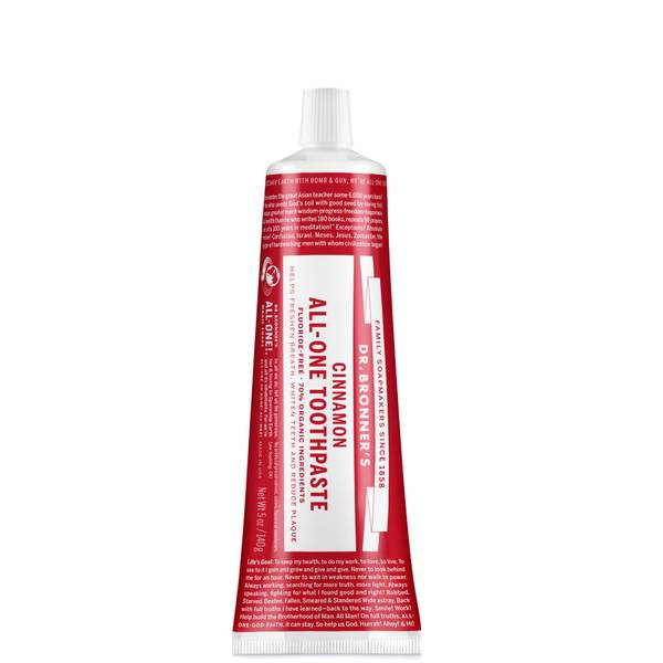 Dr. Bronner's All-One Toothpaste - Cinnamon 140g