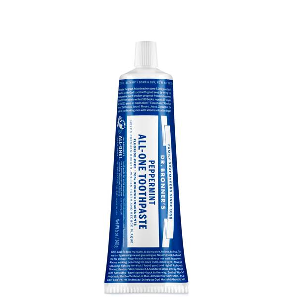 Dr. Bronner's All-One Toothpaste - Peppermint 140g