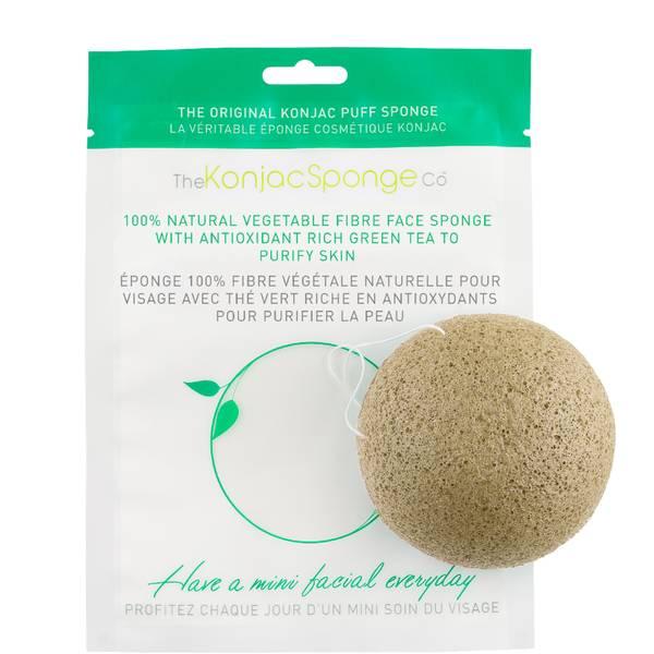 The Konjac Sponge Company Facial Puff Sponge with Green Tea