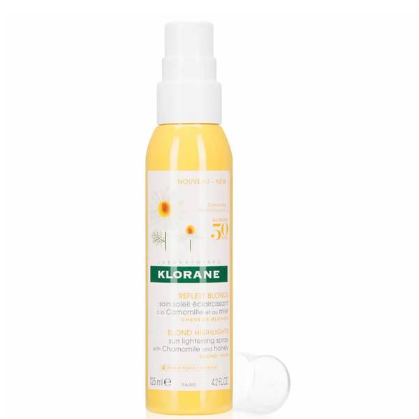 KLORANE Sun Lightening Spray with Chamomile Honey - Blond Hair (4.2 fl. oz.)