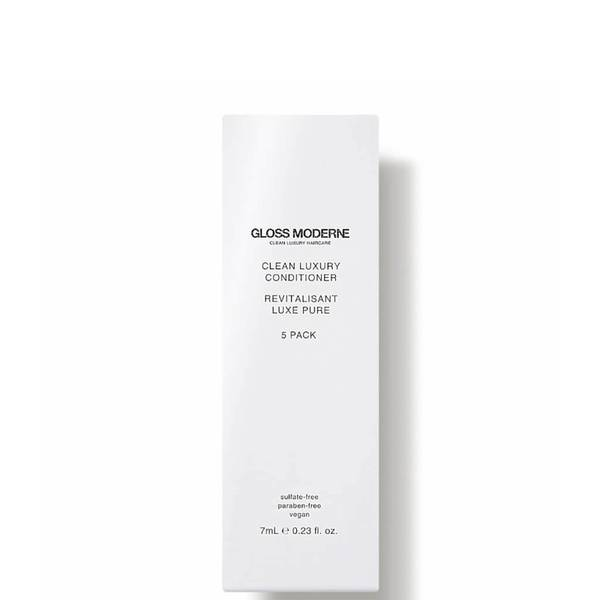 GLOSS MODERNE Clean Luxury Travel Conditioner (5 count)
