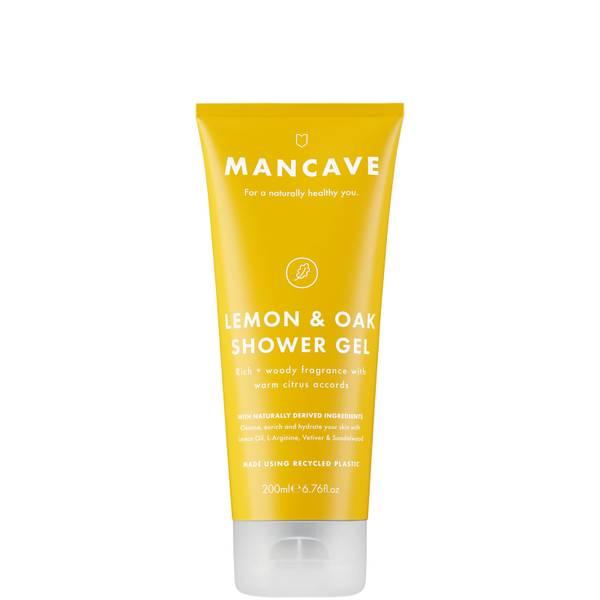 ManCave Lemon and Oak Shower Gel 200ml