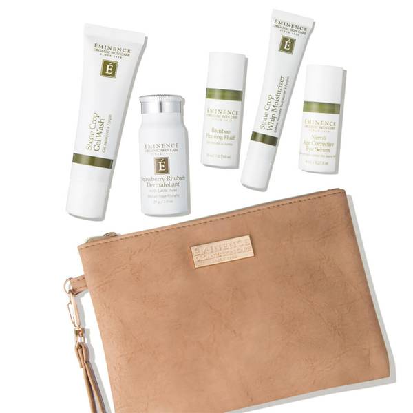 Eminence Organic Skin Care Must Have Minis Gift Set 5 piece