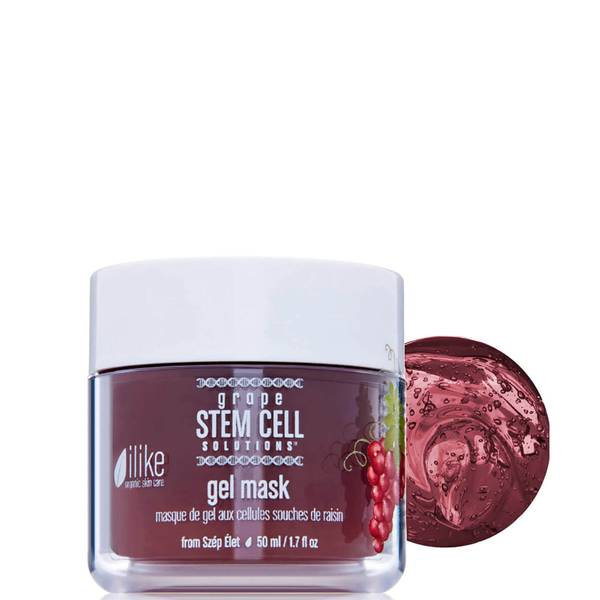 ilike organic skin care Grape Stem Cell Solutions Gel Mask (1.7 fl. oz.)