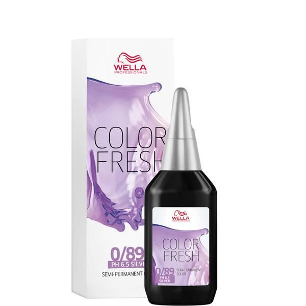 Wella Professionals Color Fresh Semi-Permanent Colour - 0/89 Pearl Cendre 75ml