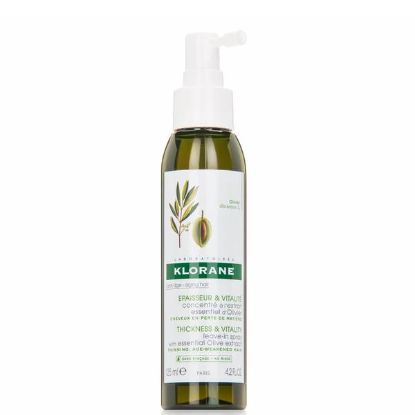 KLORANE Leave-in Spray with Essential Olive Extract - Aging Hair (4.2 fl. oz.)