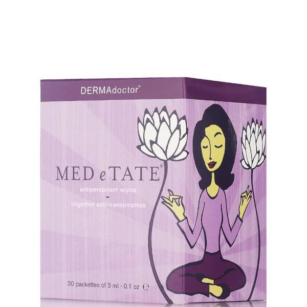 DERMAdoctor Med e Tate Antiperspirant Wipes (30 Pack)