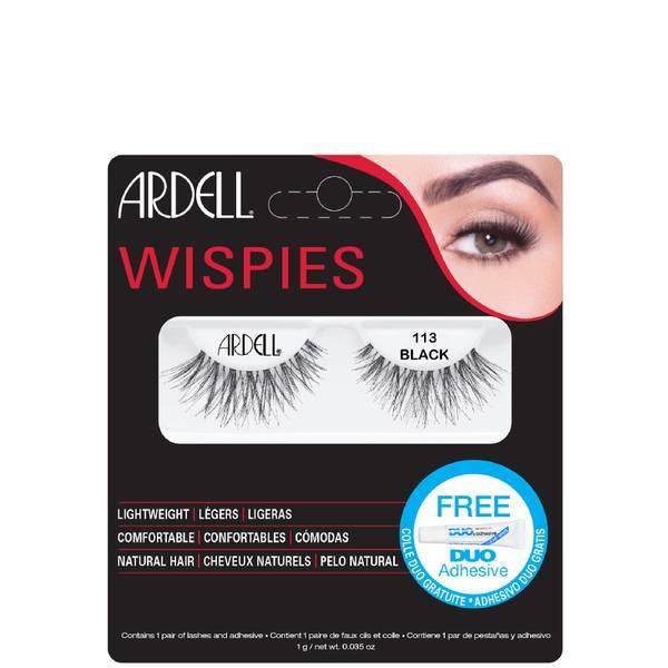 Ardell Wispies False Eyelashes - 113 Black
