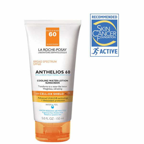 La Roche-Posay Anthelios 60 Cooling Water-Lotion Sunscreen (5 fl. oz.)