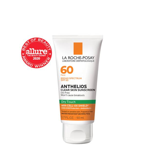 La Roche-Posay Anthelios Clear Skin Dry Touch Sunscreen SPF 60 (1.7 fl. oz.)