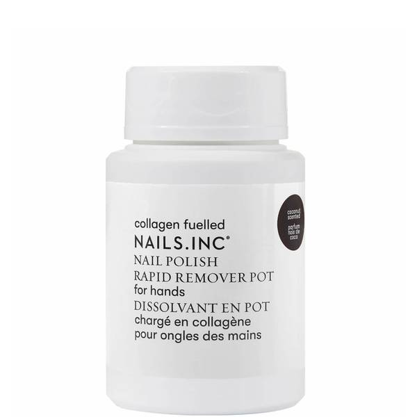 nails inc. Express Nail Polish Remover Pot Powered by Collagen 60ml