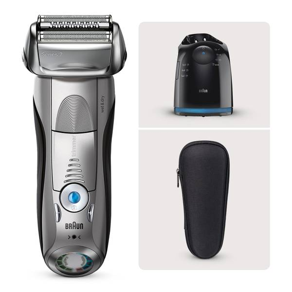 Braun Series7 7898Cc Wet & Dry Electric Shaver