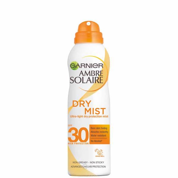 Spray Seco de Proteção Solar em Creme com FPS 30 Ambre Solaire da Garnier 200 ml