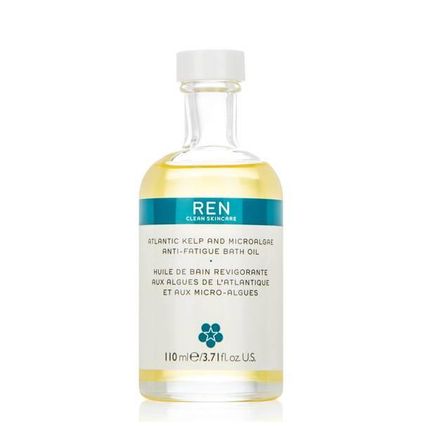 REN Clean Skincare Skincare Atlantic Kelp and Microalgae Anti-Fatigue Bath Oil 110ml