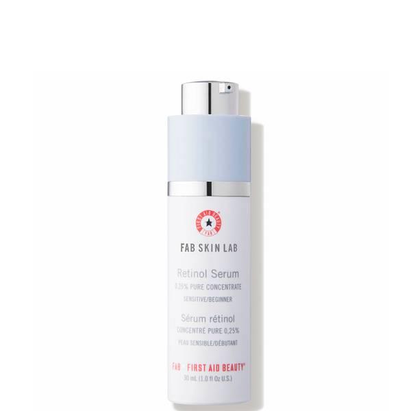 Sérum Rétinol Concentré Pur 0,25% Fab Skin Lab First Aid Beauty 30ml (peau sensible/débutant)