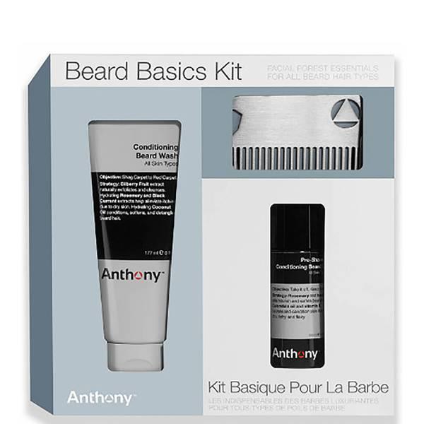 Conjunto Beard Basics da Anthony