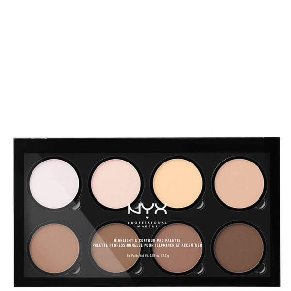 NYX Professional Makeup Highlight & Contour Pro Palette (ニックス プロフェッショナル メイクアップ ハイライト & コントアー プロ パレット)
