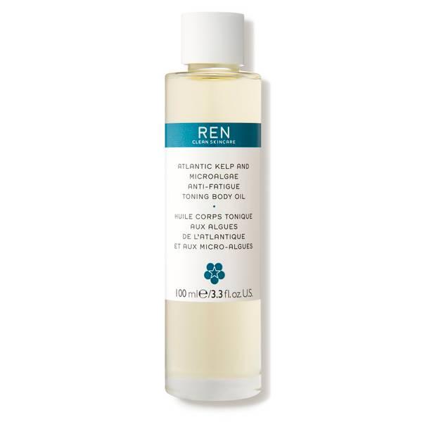 REN Clean Skincare Atlantic Kelp and Microalgae Anti-Fatigue Toning Body Oil (3.3 fl. oz.)