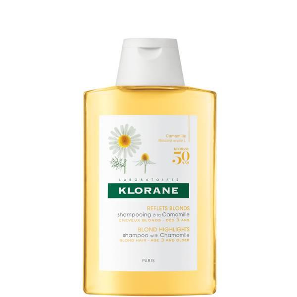 KLORANE Σαμπουάν λάμψης με χαμομήλι για ξανθά μαλλιά 200ml