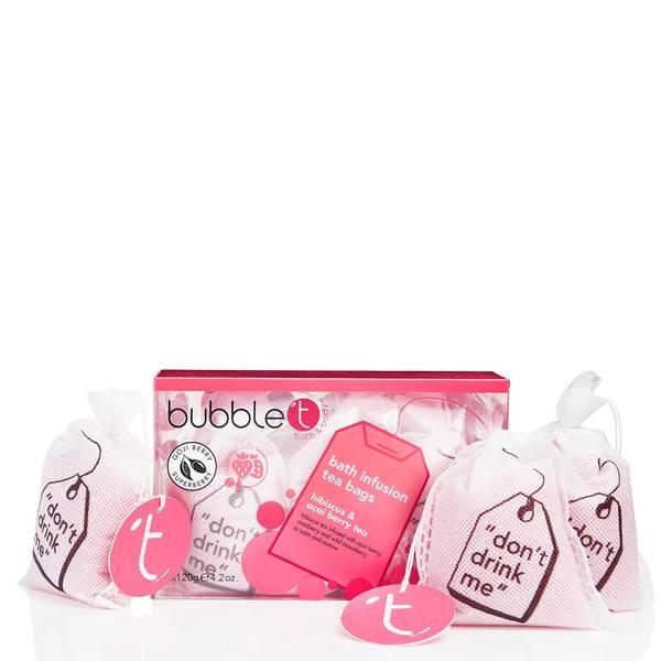 Bubble T Big Bath Tea Bags - Red 360g