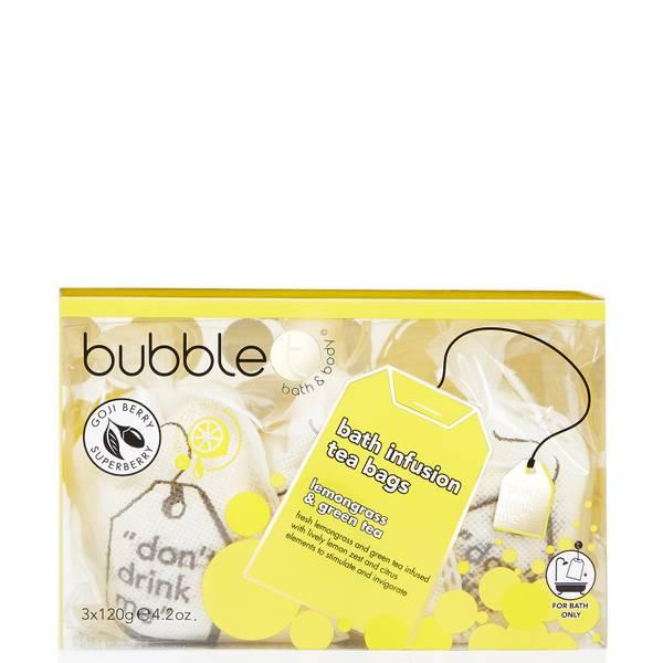 Bubble T Big Bath Tea Bags - Yellow 360g