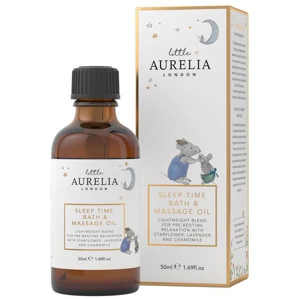 Huile de Bain et de Massage Sleep Time Bath and Massage Oil Little Aurelia de Aurelia Probiotic Skincare 50ml